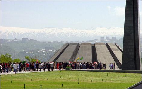 Мемориальный комплекс памяти жертв геноцида армян в Османской Турции